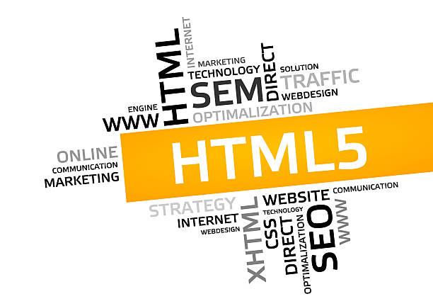 html5 word cloud, tag cloud, vector graphic - tag vector imagens e fotografias de stock