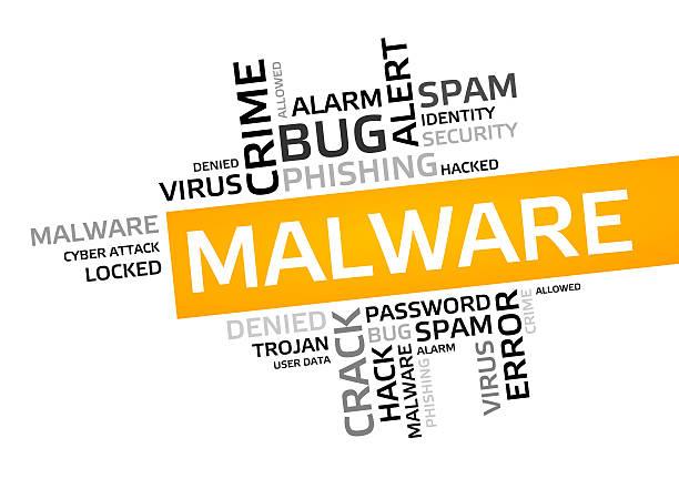 malware word cloud, tag cloud, vector graphic - tag vector imagens e fotografias de stock