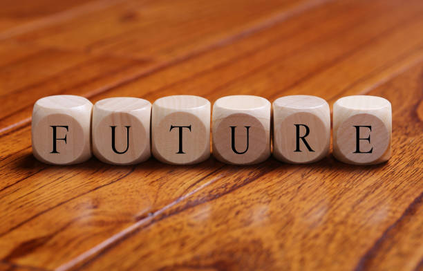 FUTURE Word Concept stock photo
