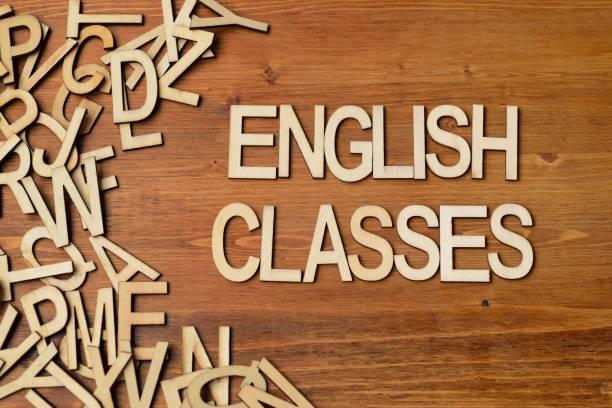 classes de mot anglais - langue anglaise photos et images de collection