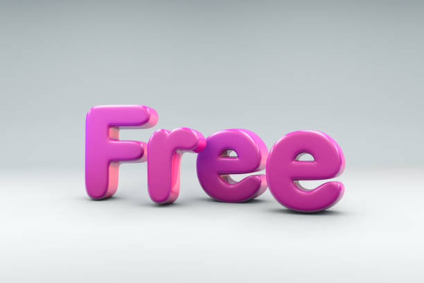 3D word Free stock photo