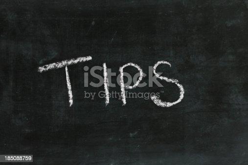 TIPS word in blackboard