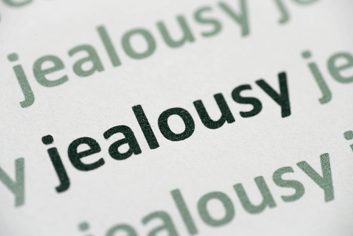 Word Jealousy Printed On Paper Macro Stock Photo - Download Image Now -  iStock