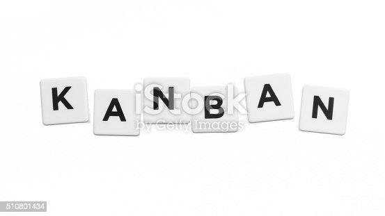istock word kanban 510801434
