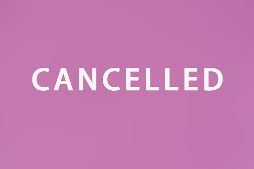 Cancellation Pink