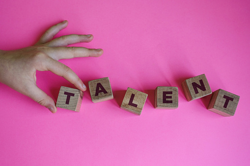 641422198 istock photo TALENT word made with building blocks. 1213134006