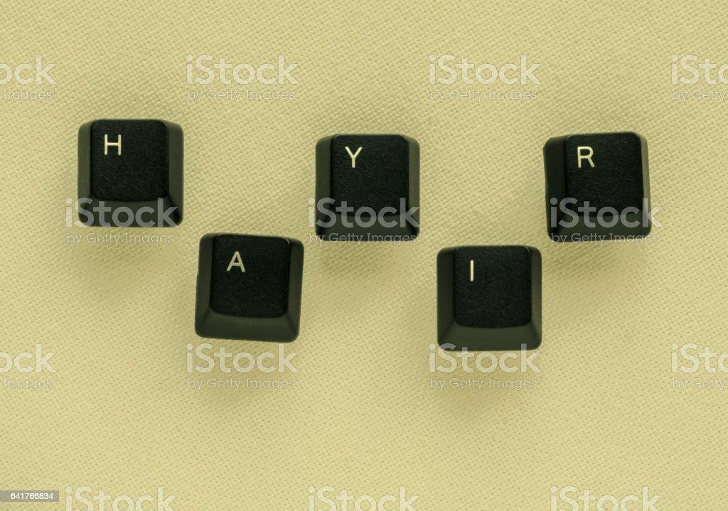 Word No Meaning Hayir In Turkish Written With Keyboard Key