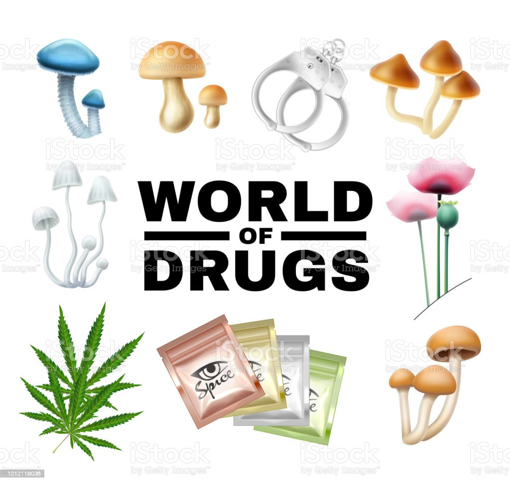 word of drugs vector illustration isolated on white mushrooms poppy cannabis spice wristbands stock photo download image now istock word of drugs vector illustration isolated on white mushrooms poppy cannabis spice wristbands stock photo download image now istock