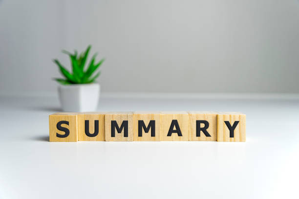 SUMMARY word on wooden cubes, Summary concept SUMMARY word on wooden cubes, Summary concept. abridgment stock pictures, royalty-free photos & images