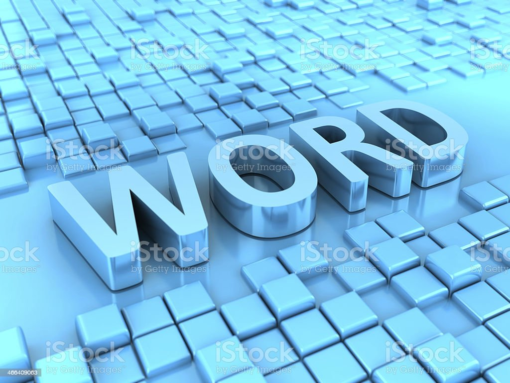 Word stock photo