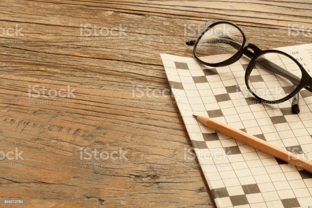 word puzzle stock photo