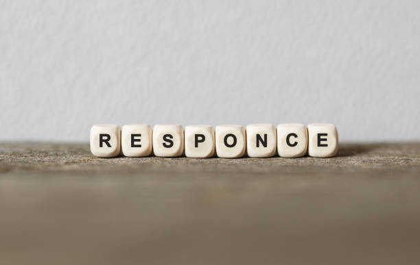 Word RESPONSE made with wood building blocks Word RESPONSE made with wood building blocks,stock image emergency response stock pictures, royalty-free photos & images