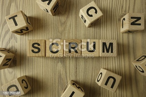 844020228 istock photo Word scrum from wooden blocks 1201258107