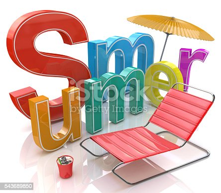 500536143istockphoto Word summer with colourful letters 543689850