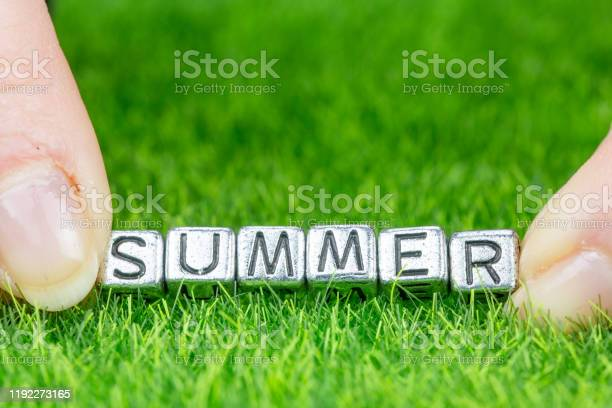 Word summer written in metal letters laid on grass and held between picture id1192273165?b=1&k=6&m=1192273165&s=612x612&h=rrom4xh7mbuoodiojbrezceld1teep1ymwdmggfx0dw=