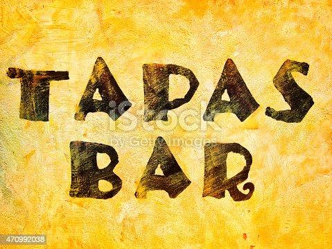 508216406 istock photo word tapas bar 470992038