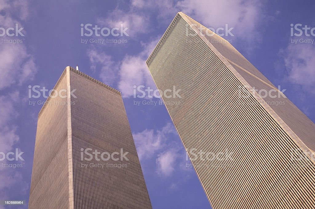 Word Trade Center NYC royalty-free stock photo