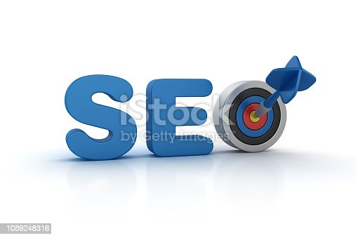 1172996896 istock photo SEO 3D Word with Target and Dart - 3D Rendering 1059248316