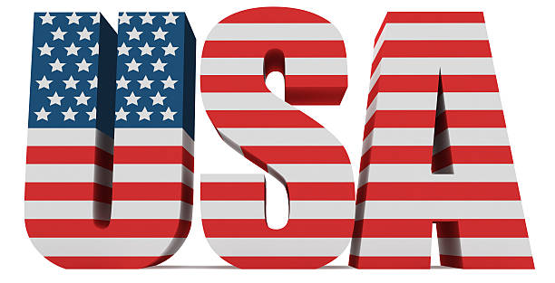 royalty free 3d usa word with us flag pictures images and stock