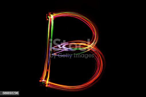 1056445350 istock photo Word writing from light. 586693296