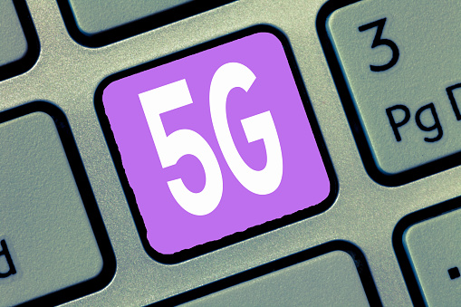 istock Word writing text 5G. Business concept for Next generation of mobile networks after the 4G LTE Fast speed connection 1049738426