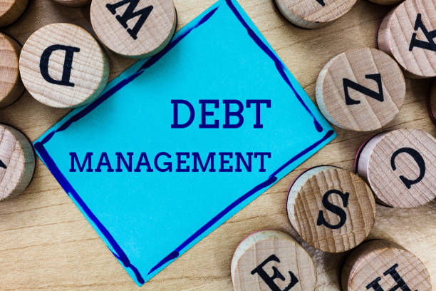 Word writing text Debt Management. Business concept for The formal agreement between a debtor and a creditor Word writing text Debt Management. Business concept for The formal agreement between a debtor and a creditor. debenture stock pictures, royalty-free photos & images