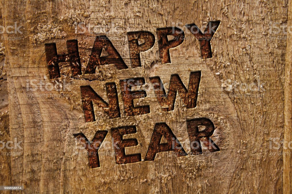 word writing text happy new year business concept for congratulations merry xmas everyone beginning of