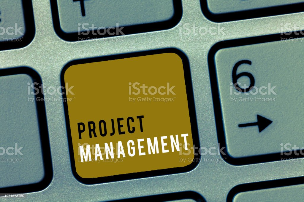 Word writing text Project Management. Business concept for Application Process Skills to Achieve Objectives and Goal Word writing text Project Management. Business concept for Application Process Skills to Achieve Objectives and Goal. Budget Stock Photo
