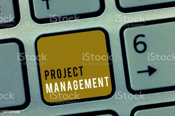 Word Writing Text Project Management Business Concept For Application Process Skills To Achieve Objectives And Goal Stock Photo - Download Image Now