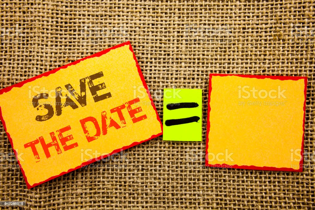 word writing text save the date conceptual photo wedding anniversary