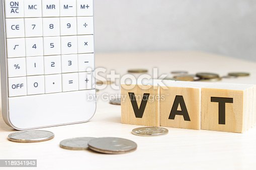 istock OKR word written on wood block. abbreviation of Objective Key Results text on wooden table for your desing, concept. 1189341943