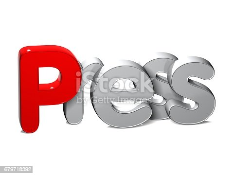 istock 3D Word XXX over white background. 679718392