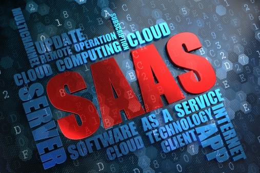 Photo libre de droit de Saas Wordcloud Concept banque d'images et plus d'images libres de droit de Abonnement