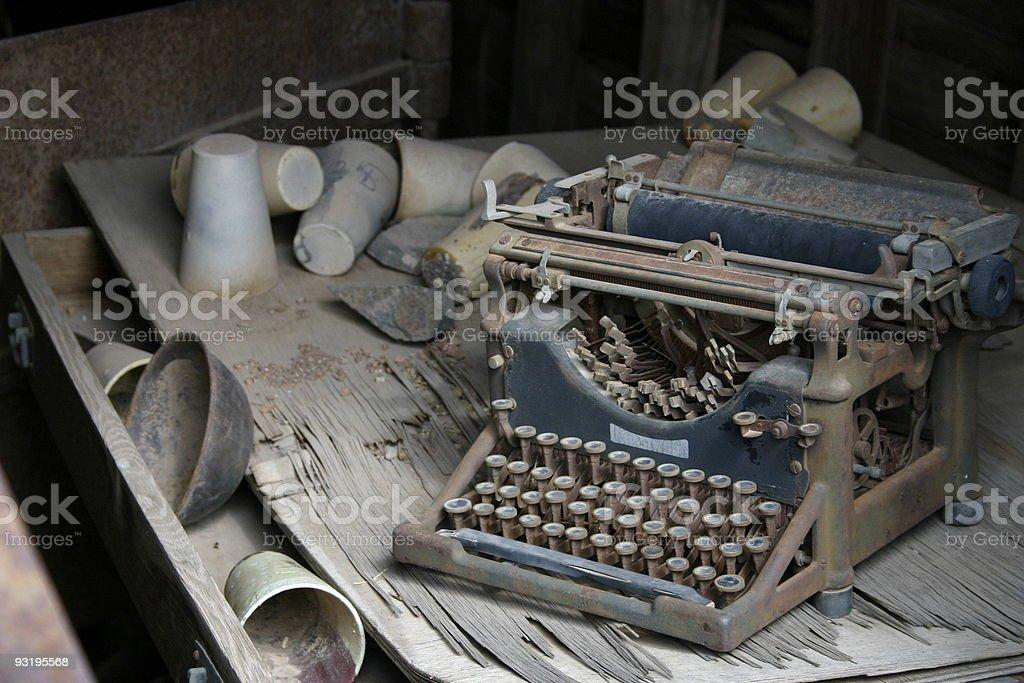 Wordprocessor? stock photo