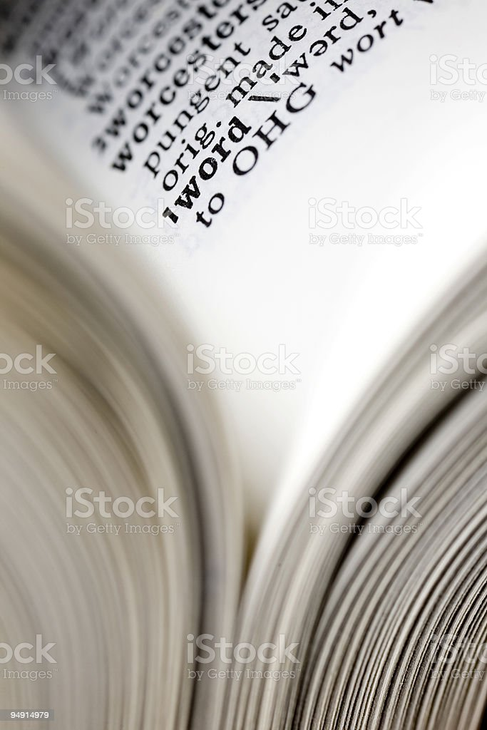 words royalty-free stock photo