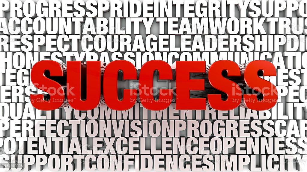 Words - Success royalty-free stock photo