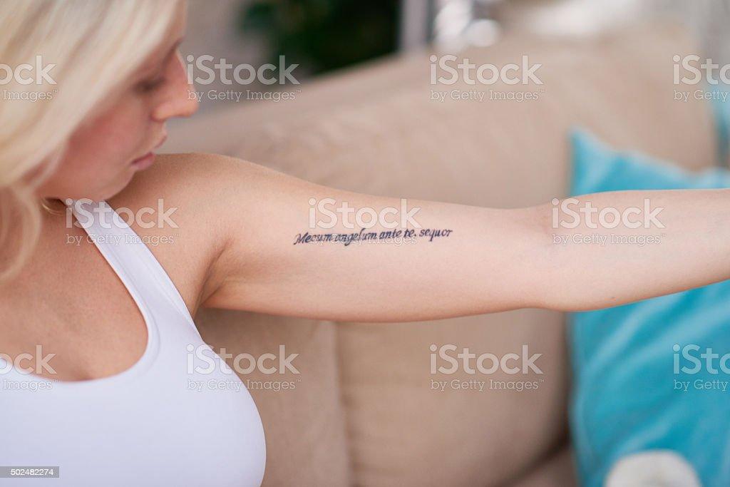 Words that inspire stock photo