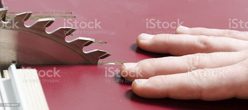 Work Accident royalty-free stock photo