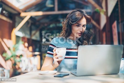 istock Work and coffee 613104348