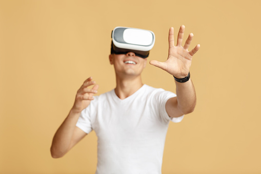 Work and entertainment in virtual world and human emotions