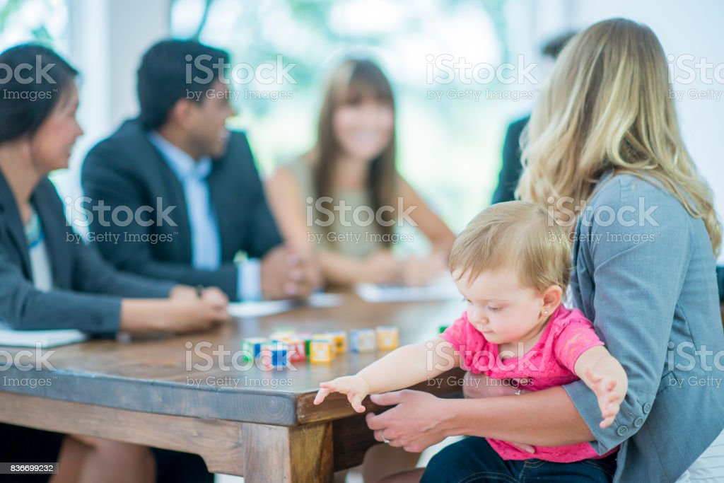 Work And Play stock photo