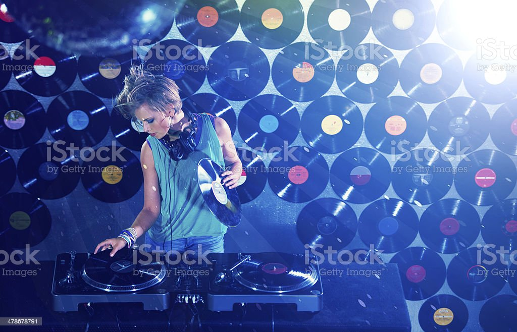 Work and pleasure all in one stock photo