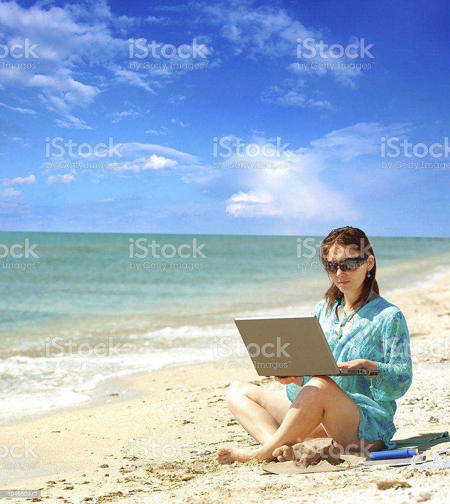 Work and relax royalty-free stock photo