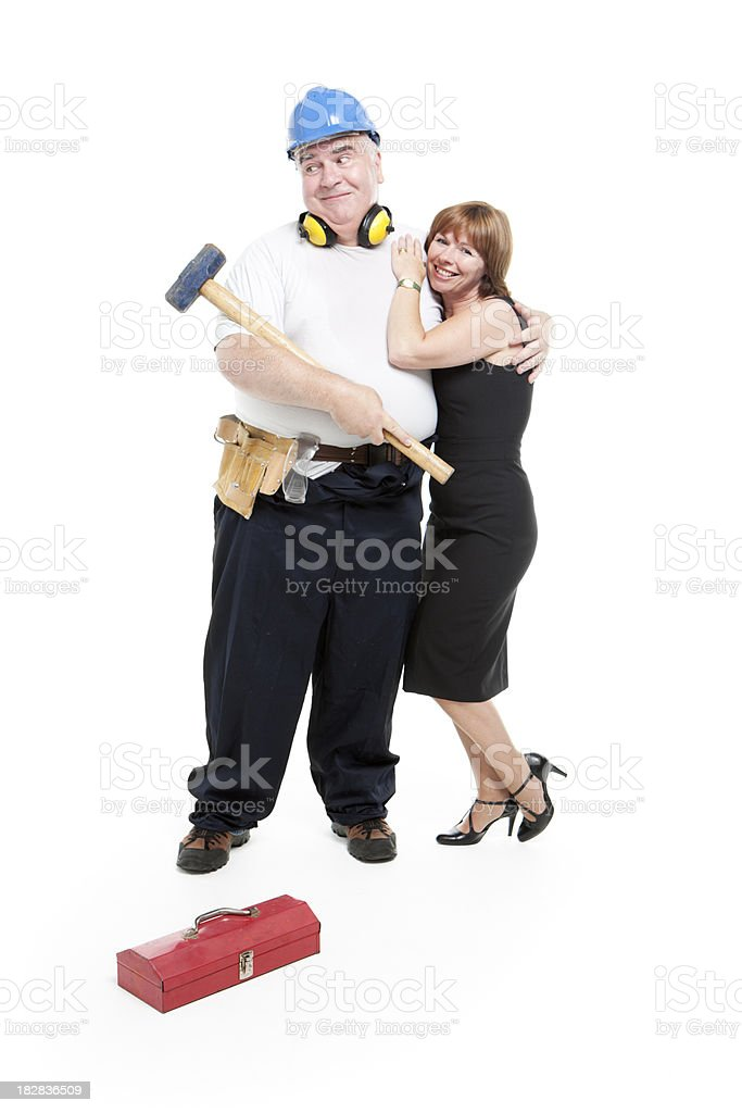 work before marriage stock photo