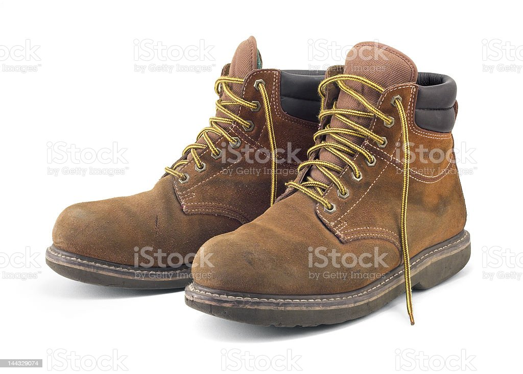 Work Boots 01 stock photo
