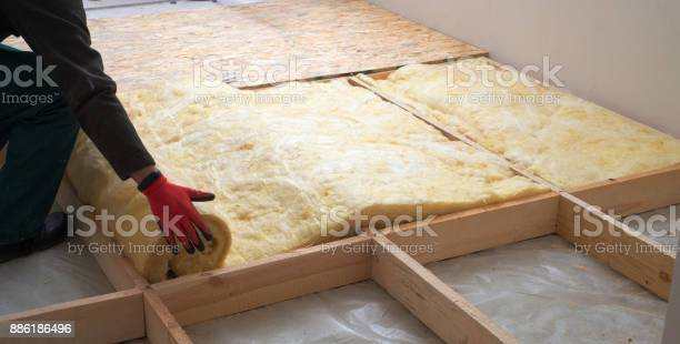 Work composed of mineral wool insulation in the floor floor heating picture id886186496?b=1&k=6&m=886186496&s=612x612&h=ffvg7wccpvv3pesa8ru t3qfo5ursgvi 3bzcbhlrpg=