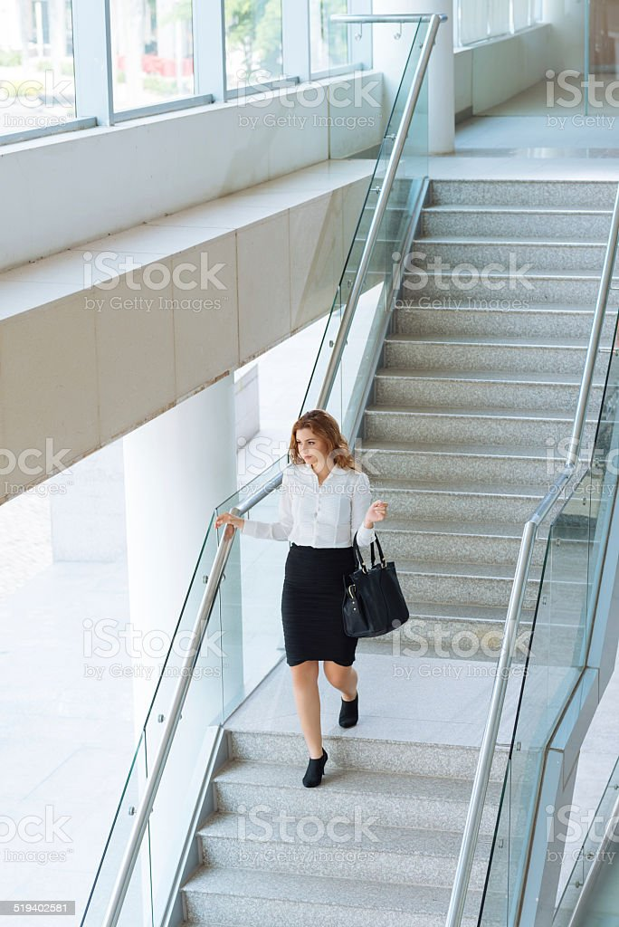 Work day is over stock photo