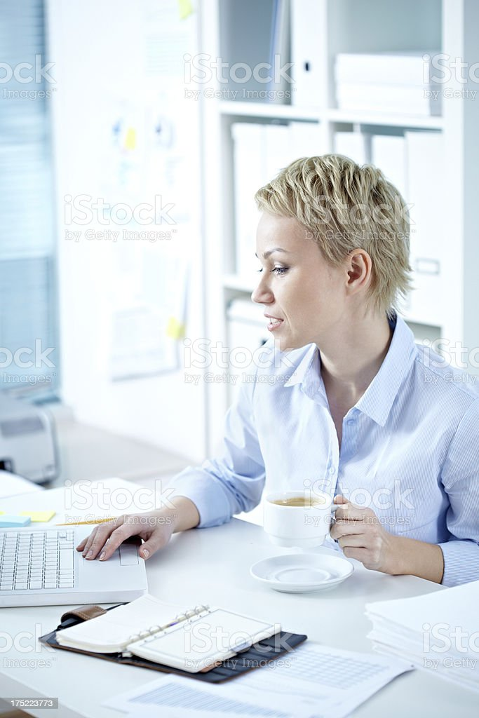 Work day royalty-free stock photo