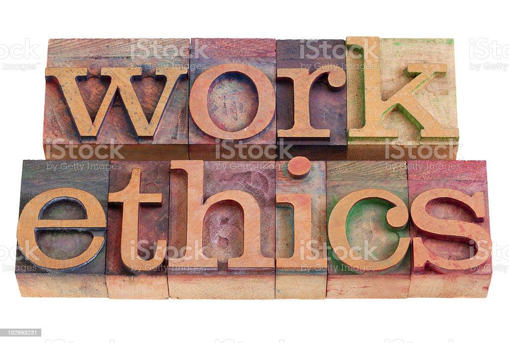 work ethics royalty-free stock photo