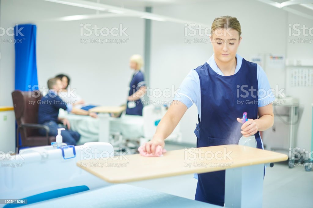 work experience in the hospital stock photo